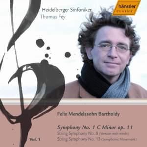 Mendelssohn - Complete Symphonies Volume 1 Product Image
