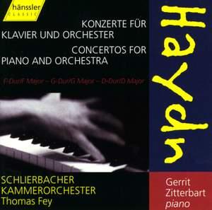 Haydn: Keyboard Concertos Nos. 3, 4 & 11