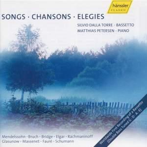 Songs, Chansons, Elegies