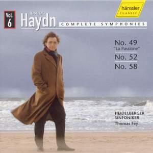 Haydn - Complete Symphonies Volume 6