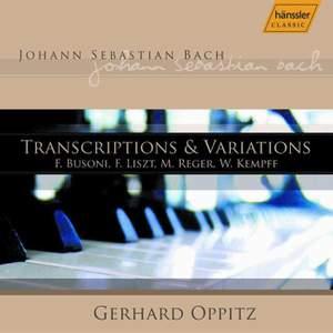 J. S. Bach: Transcriptions & Variations