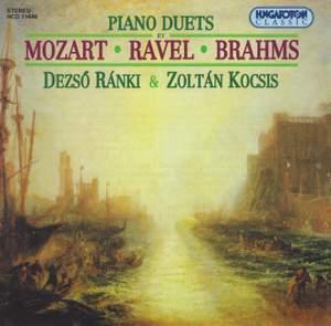 Mozart - Ravel - Brahms: Piano Duets