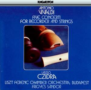 Vivaldi: Five Concerti for Recorder and Strings