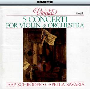 Vivaldi: 5 Concerti for Violin & Orchestra Product Image