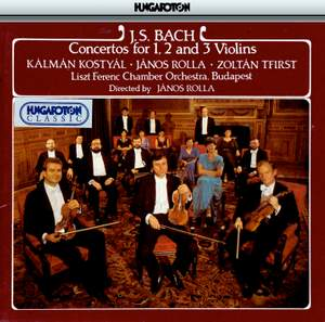 Bach, J S: Concerto for Two Violins in D minor, BWV1043, etc.