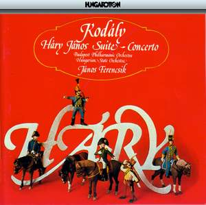 Kodály: Háry János Suite & Concerto for Orchestra Product Image