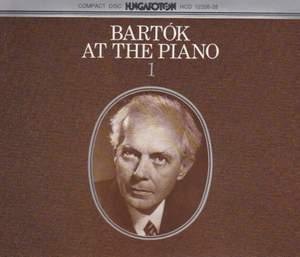 Bartok at the Piano 1