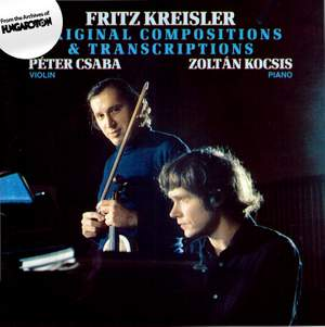 Fritz Kreisler: Original Compositions & Transcriptions