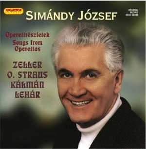 Simándy József: Songs from Operettas