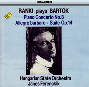 Bartók: Allegro barbaro, BB 63, Sz. 49, etc.