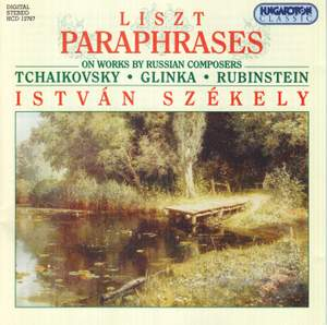 Liszt: Paraphrases on works by Russian Composers