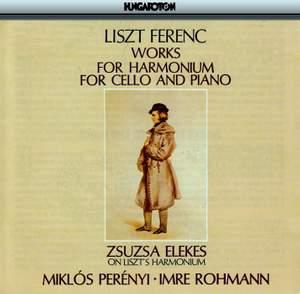 Liszt, Ferenc : Works For Harmonium - Zsuz