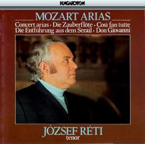Various: Jozsef Reti- Tenor: Mozart Concert Arias