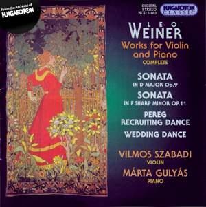 Leo Weiner: Works for Violin & Piano
