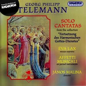 Telemann: Solo Cantatas
