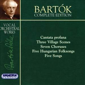 Bartók Complete Edition - Vocal Orchestral Works Product Image