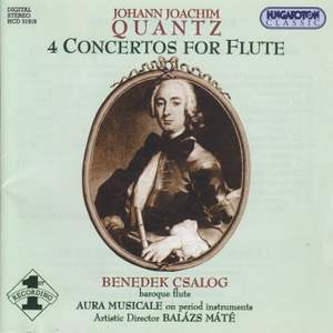 Quantz: 4 Concertos For Flute