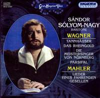 Sándor Sólyom-Nagy - Wagner/Mahler - Hungaroton: HCD31937 - download |  Presto Classical