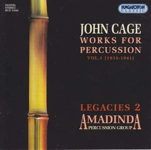 John Cage: Works for Percussion Vol. 1
