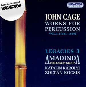 John Cage: Works for Percussion Vol. 2