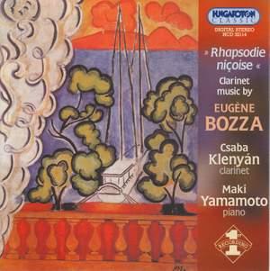 Clarinet Music by Eugene Bozza