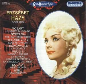 Great Hungarian Voices: Erzsébet Házy