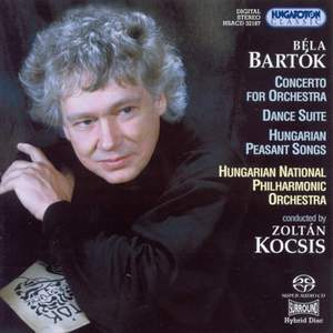 Bartók: Concerto for Orchestra, Dance Suite and Peasant Songs Product Image