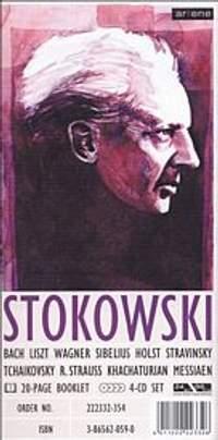 Stokowski, Leopold: Leopold Stokowski Conducts (4CD Longbox)