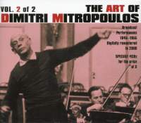 The Art of Dmitri Mitropoulos Vol.2