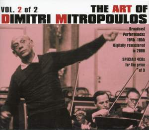 The Art of Dmitri Mitropoulos Vol.2 Product Image
