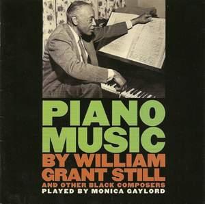 Piano Music by William Grant Still