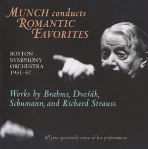 Munch conducts Romantic Favourites