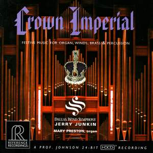 Crown Imperial (Festive music for organ, winds, brass & percussion)