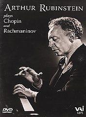 Arthur Rubinstein plays Chopin & Rachmaninov