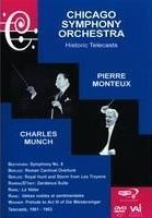 Pierre Monteux & Charles Munch: Chicago Symphony Orchestra Historic Telecasts