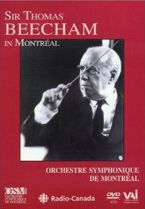 Sir Thomas Beecham In Montréal