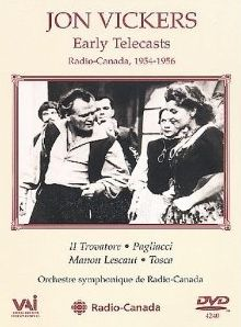 Jon Vickers: Early Telecasts (1954-56)