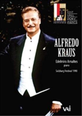 Alfredo Kraus in Recital: Salzburg Festival 1990