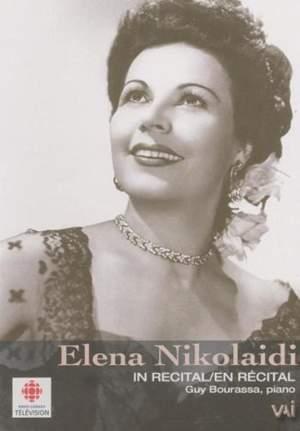 Elena Nikolaidi in Recital