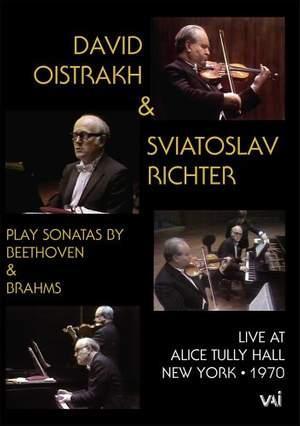 David Oistrakh and Sviatoslav Richter: Live at Alice Tully Hall