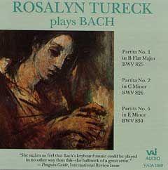JS Bach: The Partitas Vol. 1