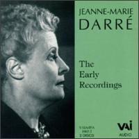 Jeanne-Marie Darré: Early Recordings