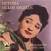 Victoria de los Angeles Live in Concert
