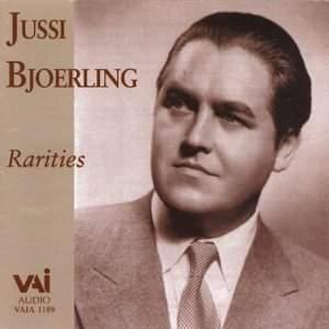 Jussi Bjoerling: Rarities