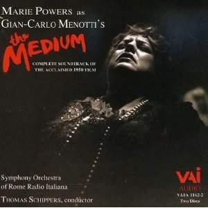 Menotti: The Medium - 1950 Film Soundtrack