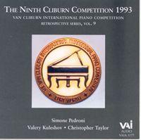 Van Cliburn Competition Vol. 9 (1993)