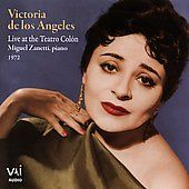 Victoria De Los Angeles Live Recital