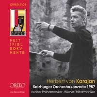 Herbert Von Karajan - Concertos for Orchestra Salzburg 1957