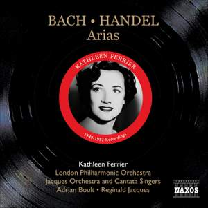 Kathleen Ferrier sings Bach and Handel Arias