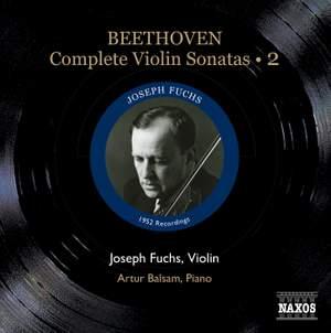 Beethoven - Complete Violin Sonatas Volume 2